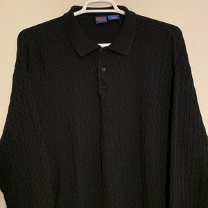 Pendleton Polo Rugby Long Sleeve Cotton Sweater